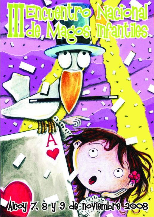 Cartel Magos Infantiles - 03 - Alcoy 2008