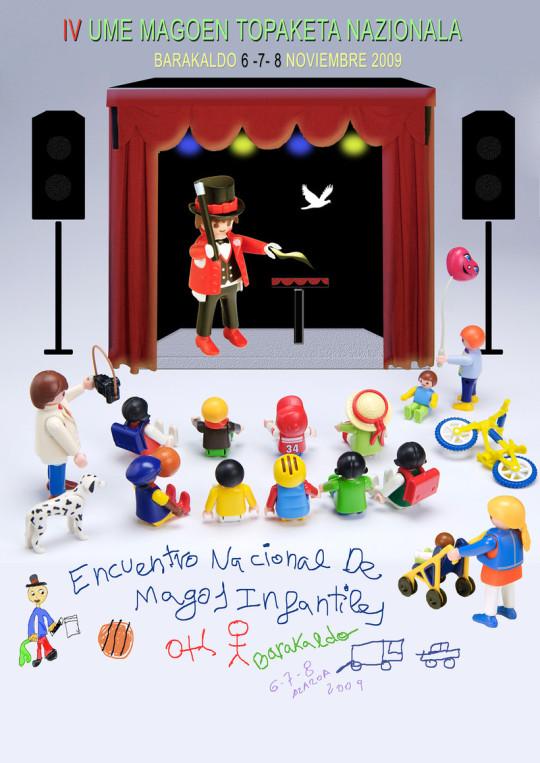 Cartel Magos Infantiles - 04 - Baracaldo 2009