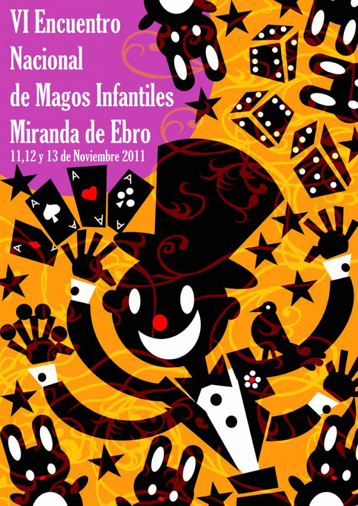 Cartel Magos Infantiles - 06 - Miranda de Ebro 2011