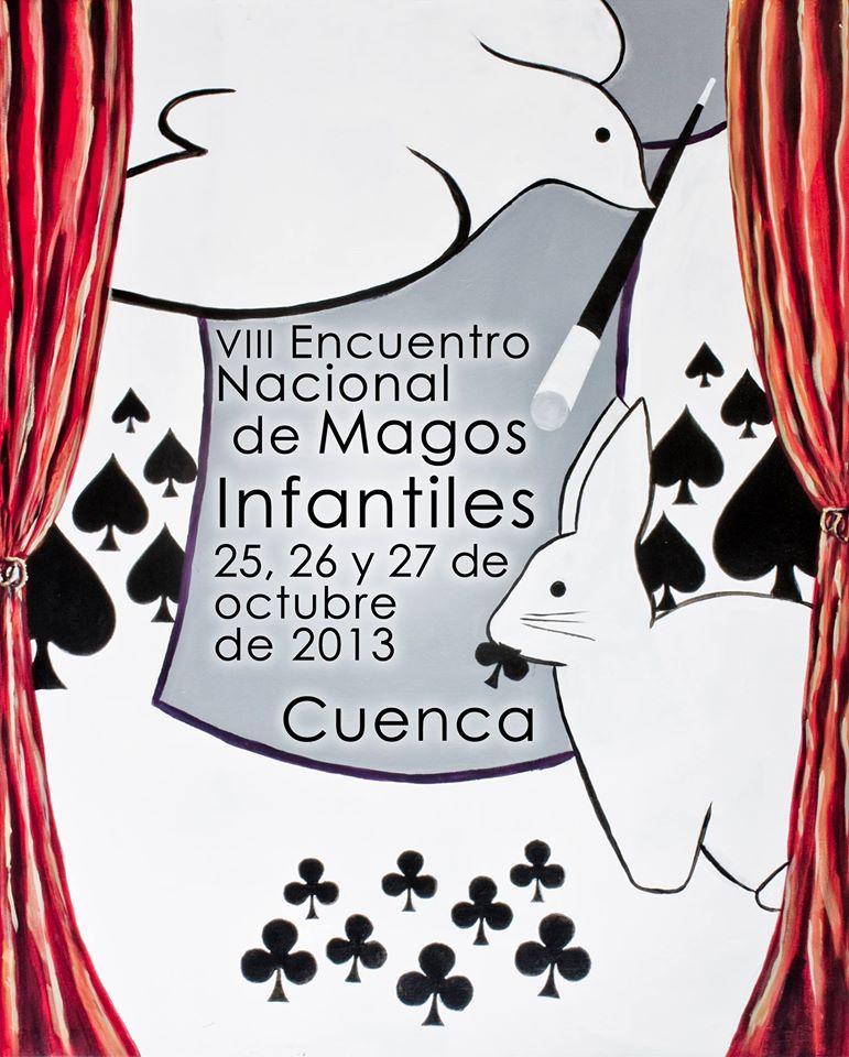 Cartel Magos Infantiles - 08 - Cuenca 2013