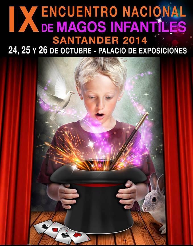 Cartel Magos Infantiles - 09 - Santander 2014