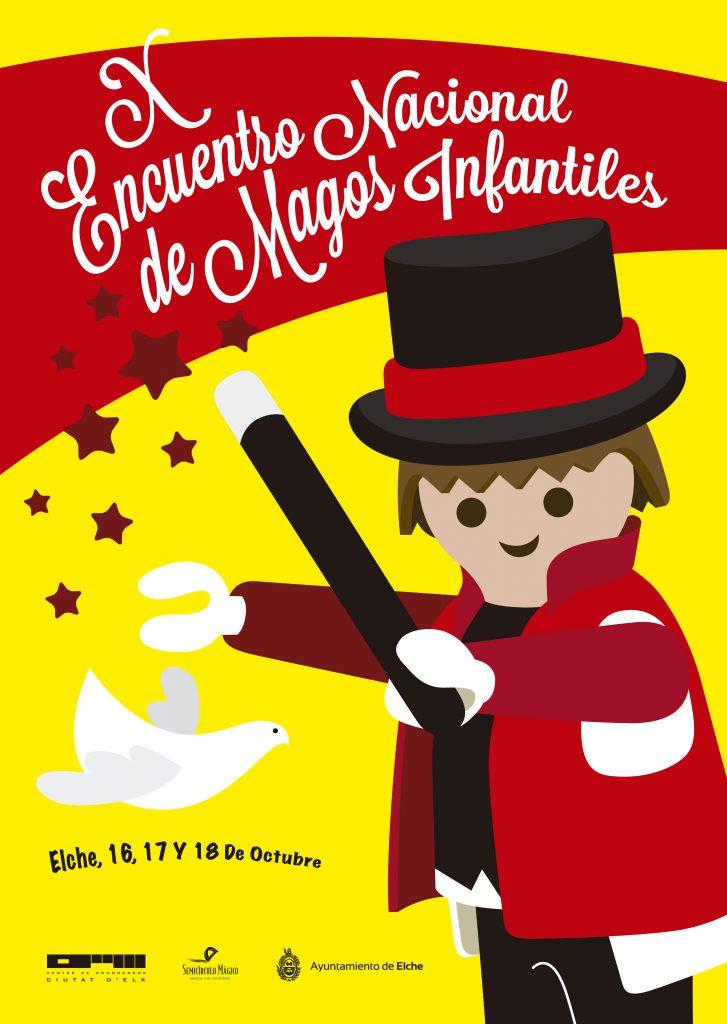 cartel magos infantiles